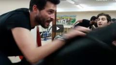 Boldi Filmindeki Rolü İçin, Ekin Koç Mekanik At'a Bindi