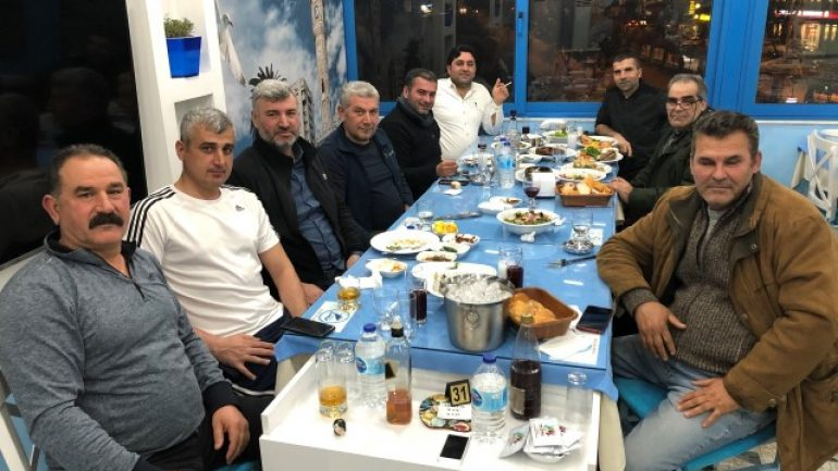 ATÇILIK CAMİASI DENİZALTI BALIK' TA TOPLANDI